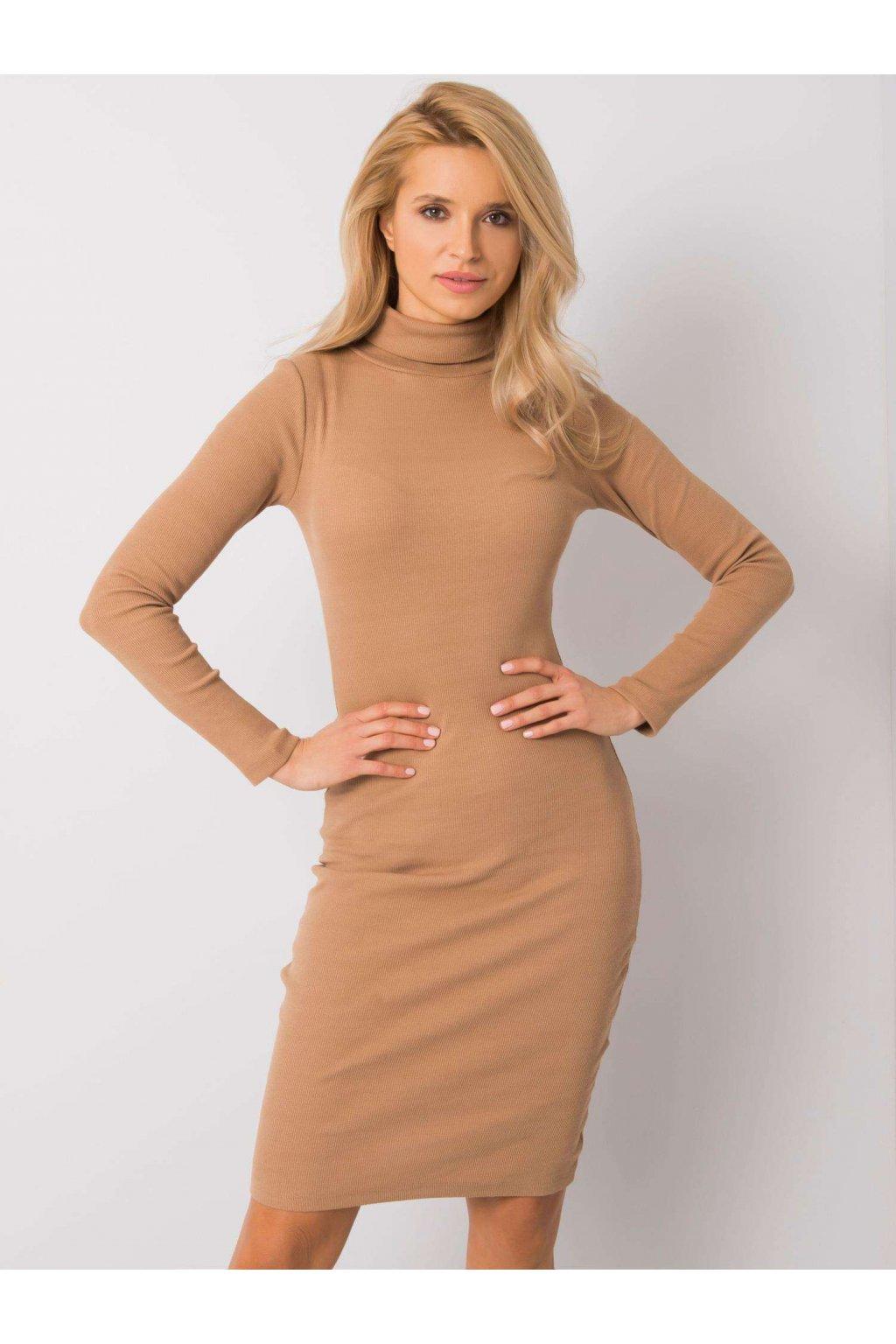 pol pl Camelowa sukienka Livia RUE PARIS 358204 2