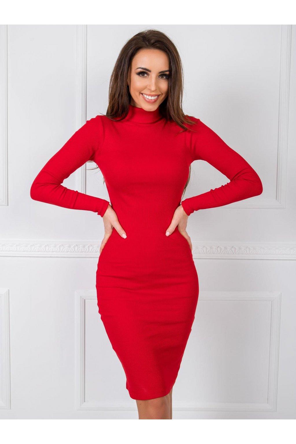 pol pl Czerwona sukienka Livia RUE PARIS 346394 2