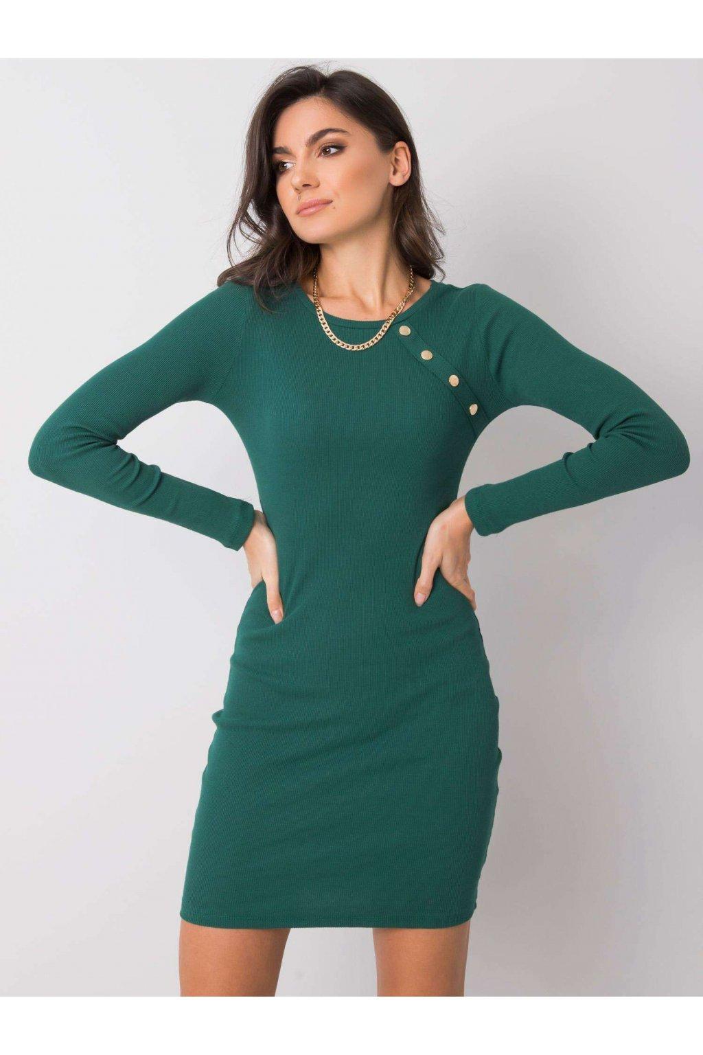 pol pl Ciemnozielona sukienka Madlene RUE PARIS 358875 3
