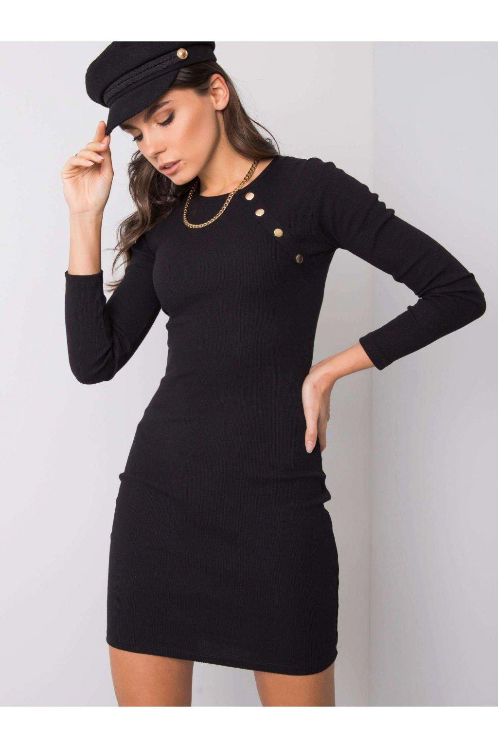 pol pl Czarna sukienka Madlene RUE PARIS 358873 1