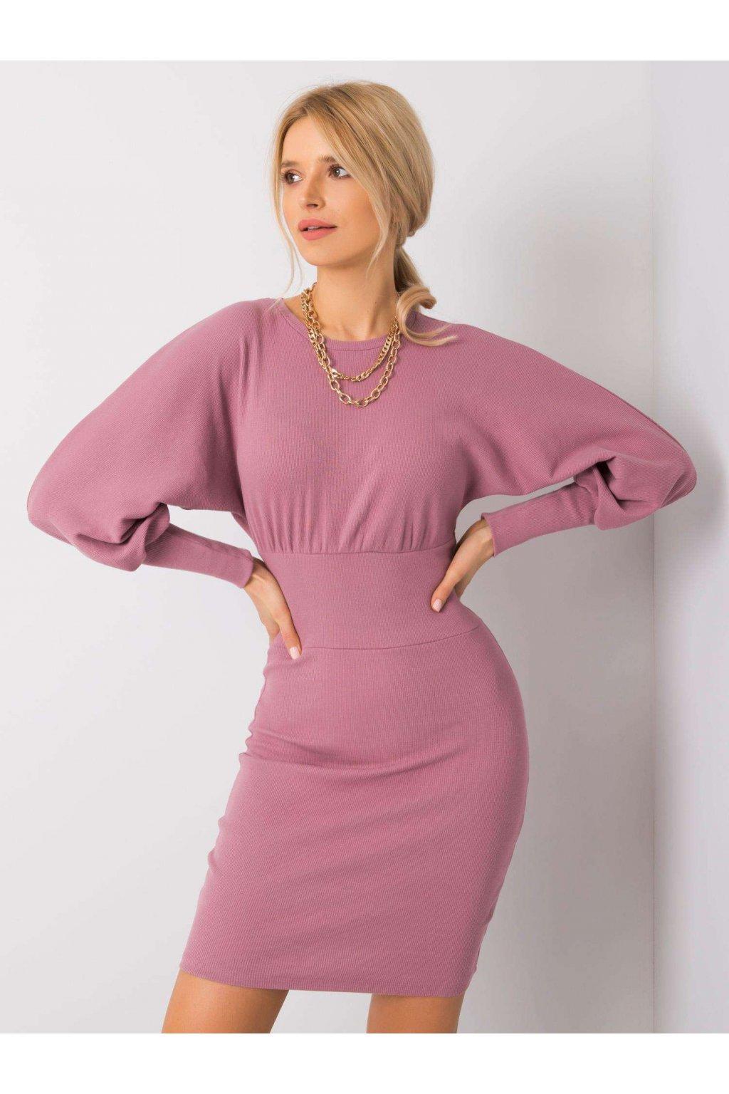 pol pl Wrzosowa sukienka Leticia RUE PARIS 358296 4