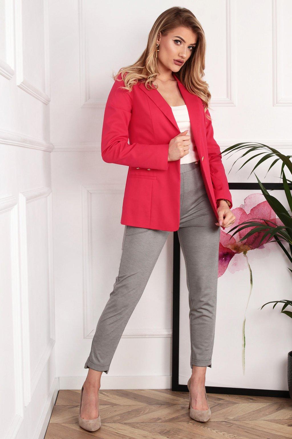 Dámske elegantné sako Frida ružové