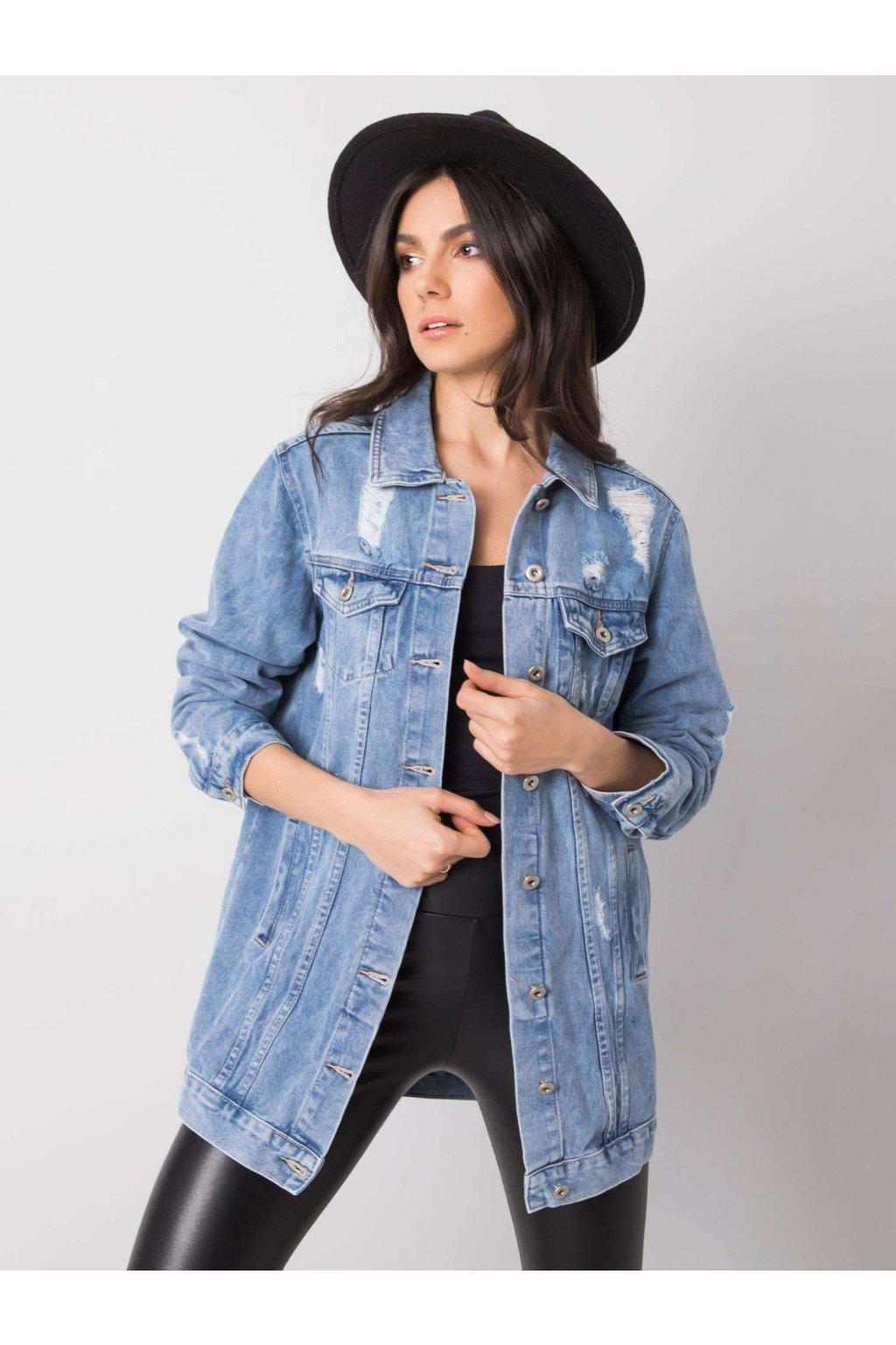 pol pl Niebieska damska kurtka z denimu Ashleigh 361490 1