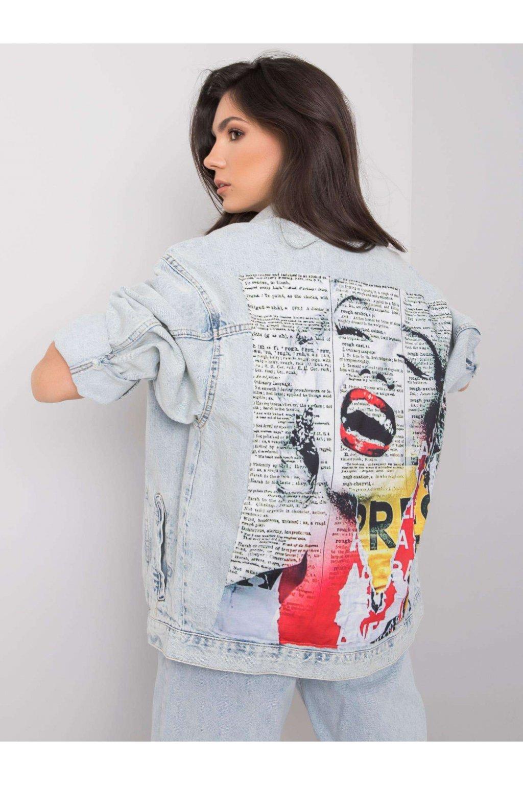 pol pl Jasnoniebieska kurtka jeansowa Everly RUE PARIS 360546 1