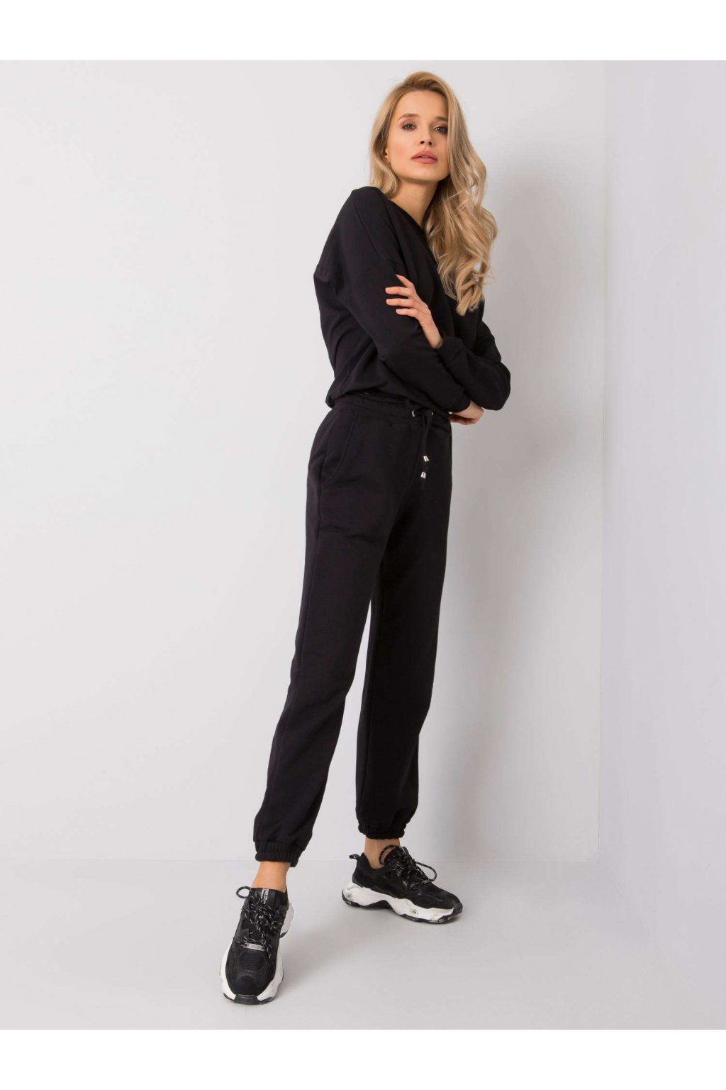 pol pl Czarne spodnie Agueda RUE PARIS 359530 1