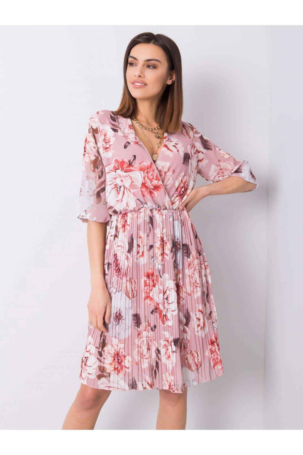 pol pl Rozowa sukienka z printami Valentine 363686 1