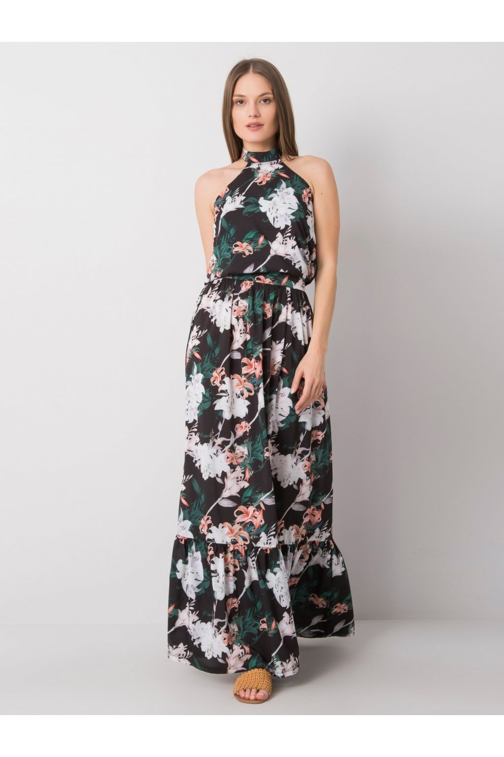 pol pl Czarna sukienka z printami Vanessa 362352 1