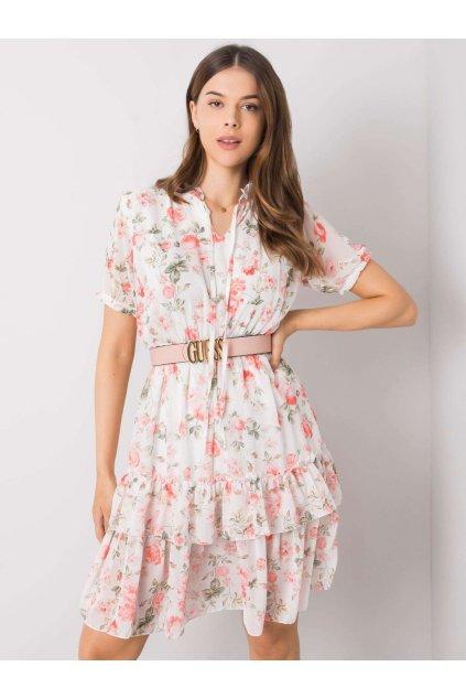 pol pl Biala sukienka w kwiaty Mckenna 364508 1