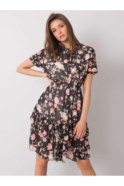 pol pl Czarna sukienka w kwiaty Mckenna 364506 1