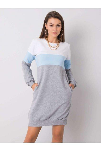 pol pl Bialo szara sukienka Feliciana RUE PARIS 356104 3