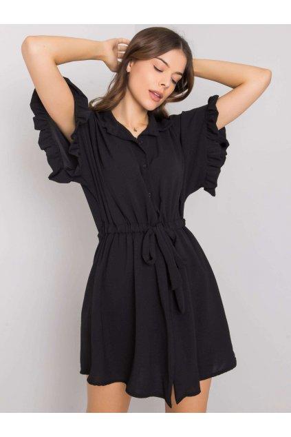 pol pl Czarna sukienka z wiazaniem Adelita 364637 1