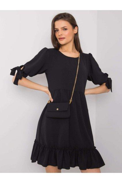 pol pl Czarna sukienka z torebka Kendra 363658 1