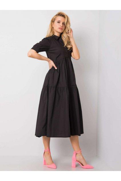 pol pl Czarna sukienka Roselyn RUE PARIS 363014 1