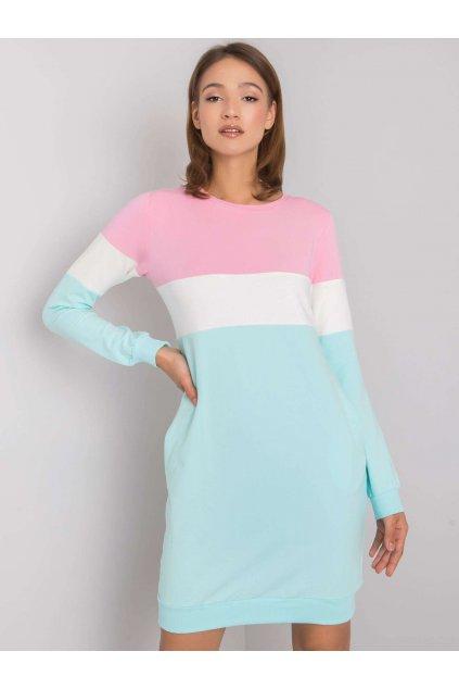 pol pl Rozowo mietowa sukienka Feliciana RUE PARIS 366334 1