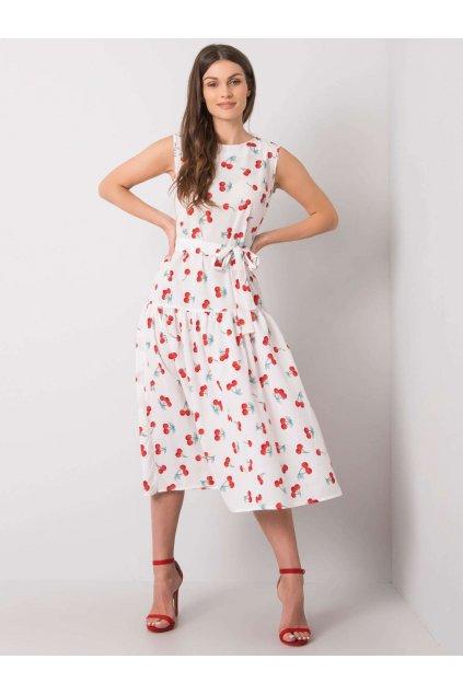 pol pl Biala sukienka z printami Safia 367005 4