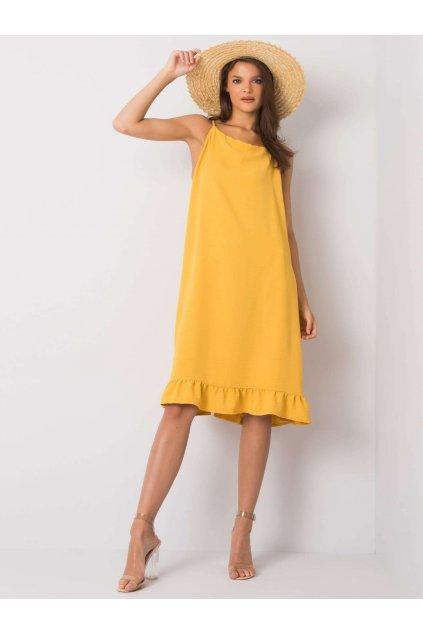 pol pl Zolta sukienka na ramiaczkach Simone 367567 3
