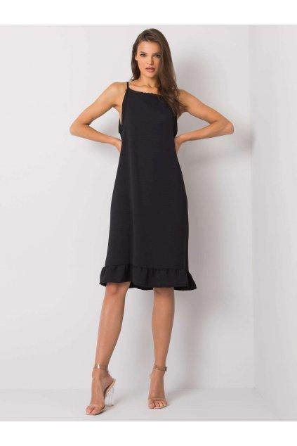 pol pl Czarna sukienka na ramiaczkach Simone 367637 2