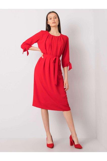 pol pl Czerwona sukienka koktajlowa Alethea 366808 1