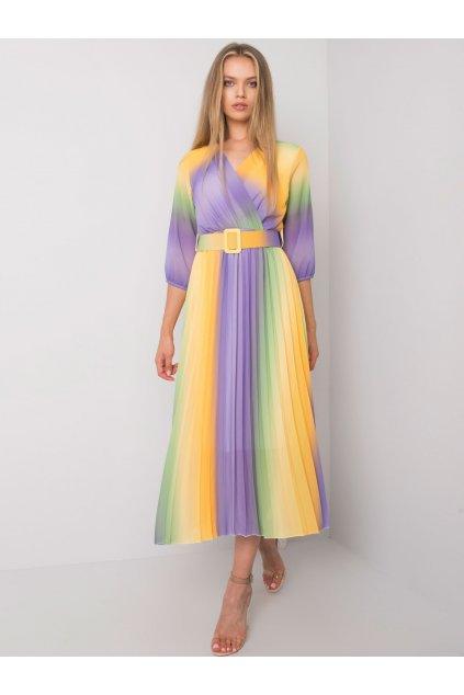 pol pl Zolto fioletowa sukienka ombre Elliana 372691 2