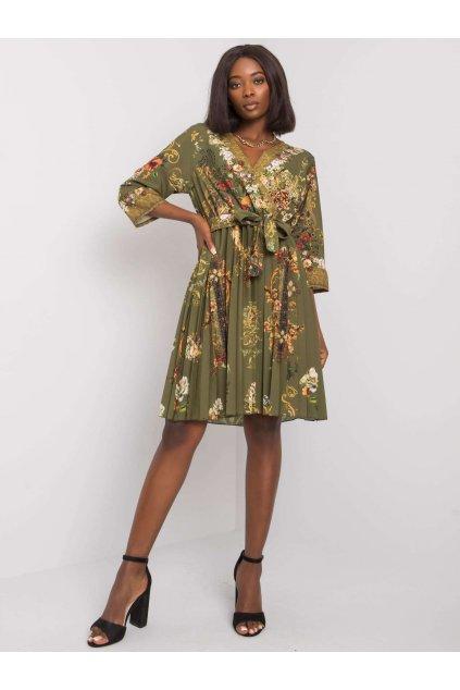 pol pl Khaki sukienka plisowana Xana 374917 1