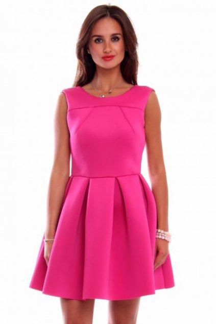 sukienka z pianki rozowa cm259