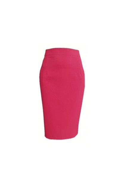 puzdrová sukňa tmavoružová1
