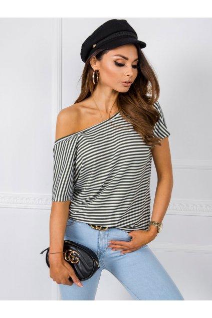 pol pl Bialo khaki t shirt Gina RUE PARIS 348053 1