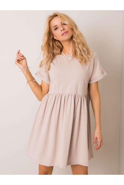 pol pl Bezowa sukienka Dita RUE PARIS 351311 1