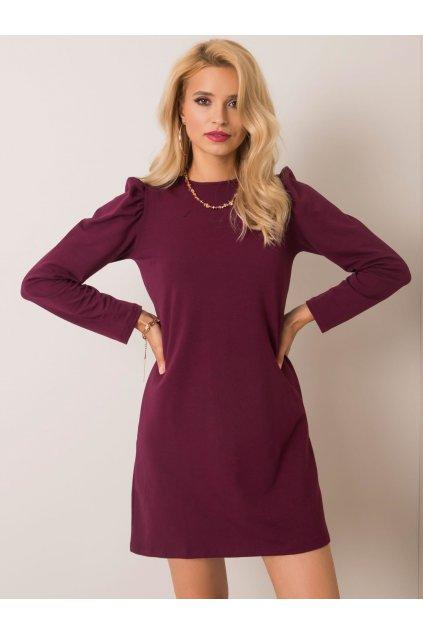 pol pl Burgundowa sukienka Mariah RUE PARIS 352823 1