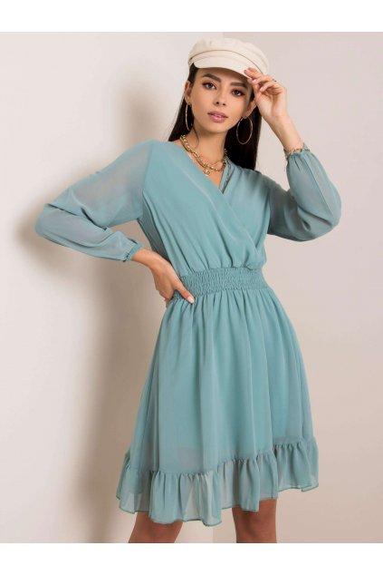 pol pl Mietowa sukienka Giovana RUE PARIS 353279 1