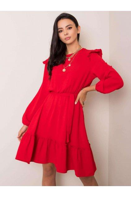 pol pl Czerwona sukienka Alyssa RUE PARIS 353306 1