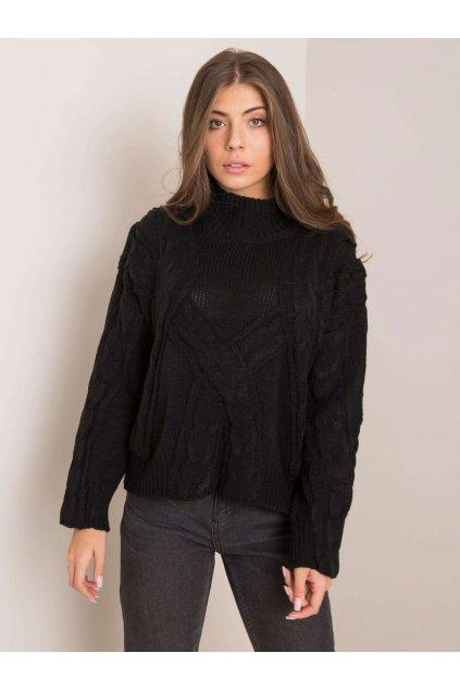 pol pl Czarny sweter Miguela 354621 1
