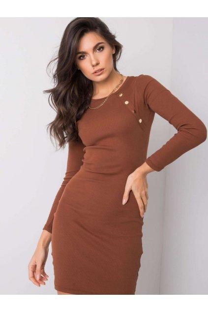 pol pl Brazowa sukienka Madlene RUE PARIS 358876 1