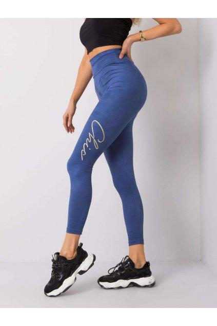 pol pl Niebieskie legginsy Bettie RUE PARIS 358801 3