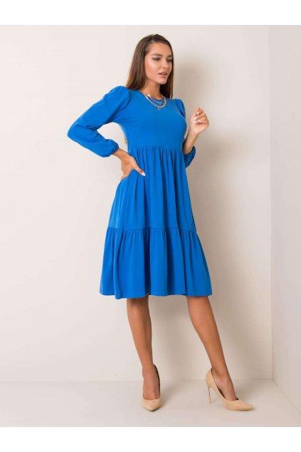 pol pl Niebieska sukienka Yonne RUE PARIS 354174 1