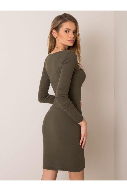 pol pl Khaki sukienka Mercy RUE PARIS 354811 1