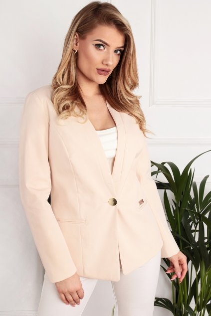 Dámske elegantné sako Melody béžové
