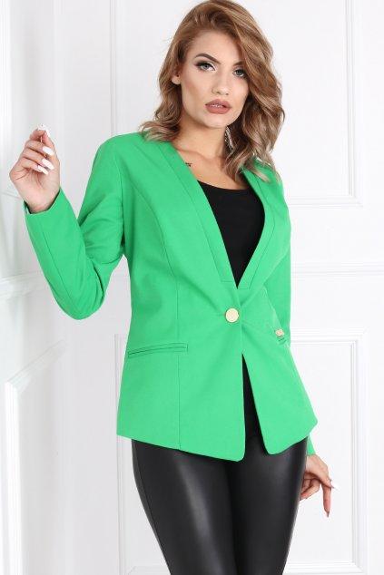 Dámske elegantné sako Melody zelené