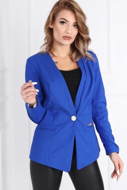 Dámske elegantné sako Melody modré
