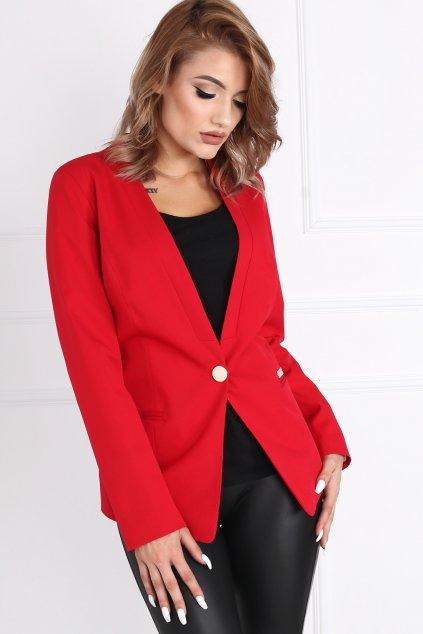 Dámske elegantné sako Melody červené