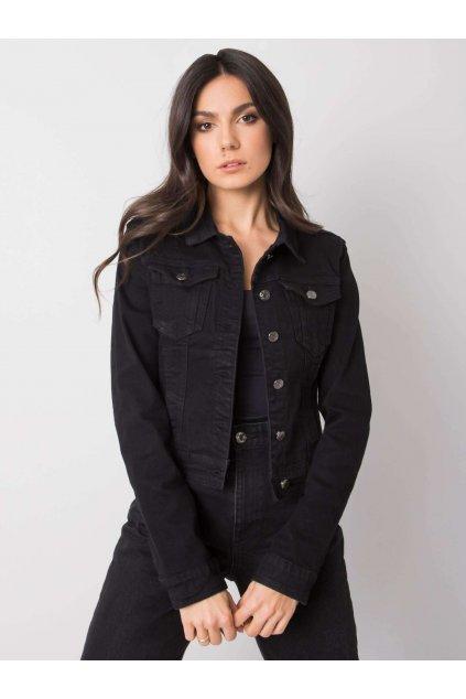 pol pl Czarna kurtka jeansowa Belen 361493 1
