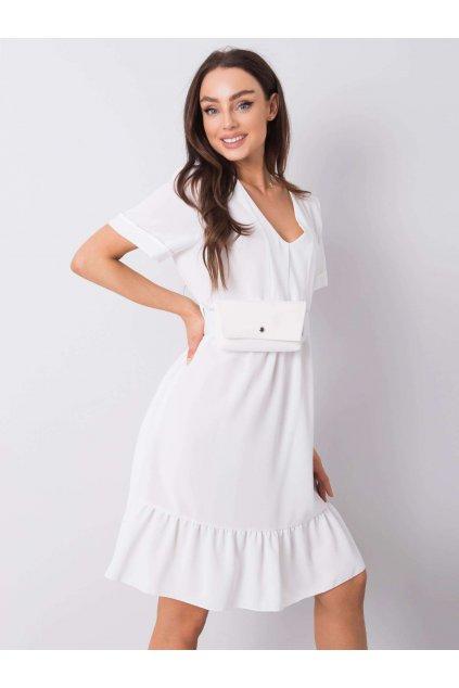 pol pl Ecru sukienka z falbana Vianna 364109 1