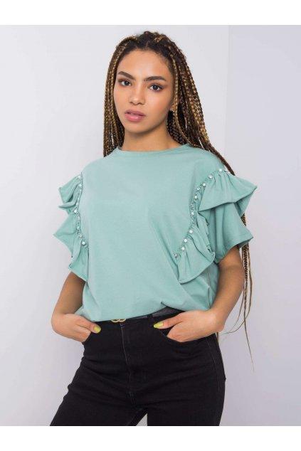 pol pl Pistacjowa bluzka z aplikacja Miabella 363342 1
