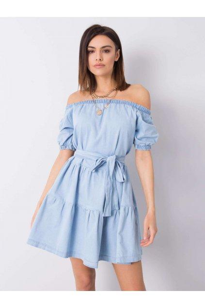 pol pl Niebieska sukienka jeansowa Nikolina 363211 1