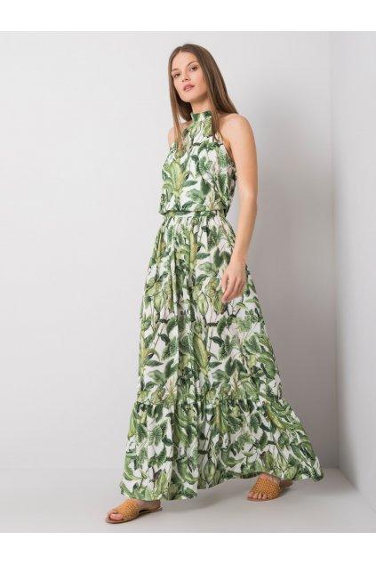 pol pl Zielona sukienka z nadrukiem Liliana 362351 3