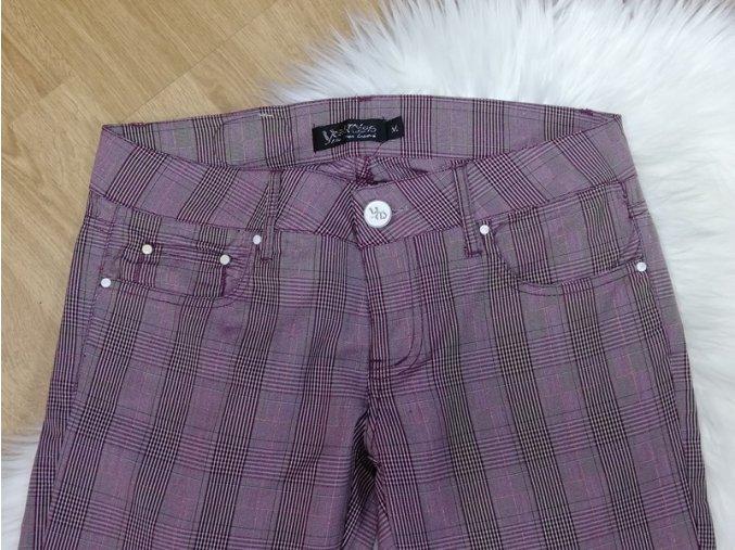 Dámske kárované nohavice Yes! Miss