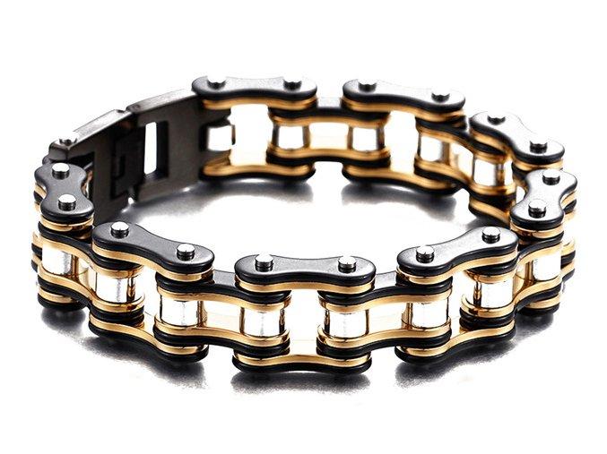 Zlatý náhrdelník etno original