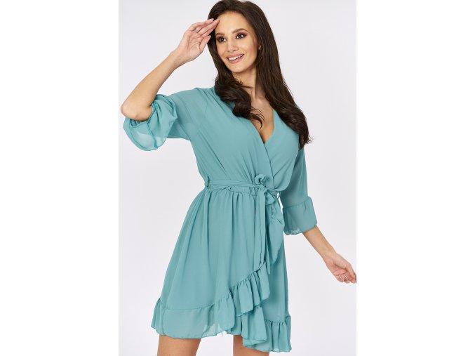Dámske úpletové šaty Tatiana 7716 béžové