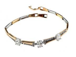 Masívny zlatý náhrdelník for lady
