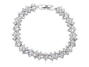 Masívny strieborný náhrdelník erozja
